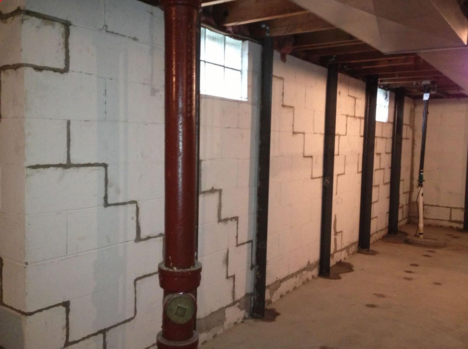 Wall Straightening And Bracing
